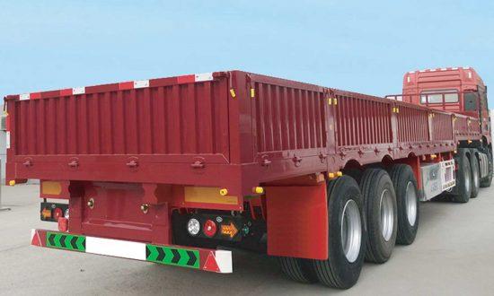 Half Body Cargo Truck